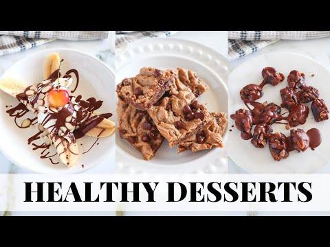 EASY HEALTHY DESSERTS: tasty, vegan, paleo recipes