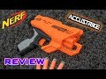 [REVIEW] Nerf Accustrike Quadrant | Unboxing, Review, & Firing Demo!