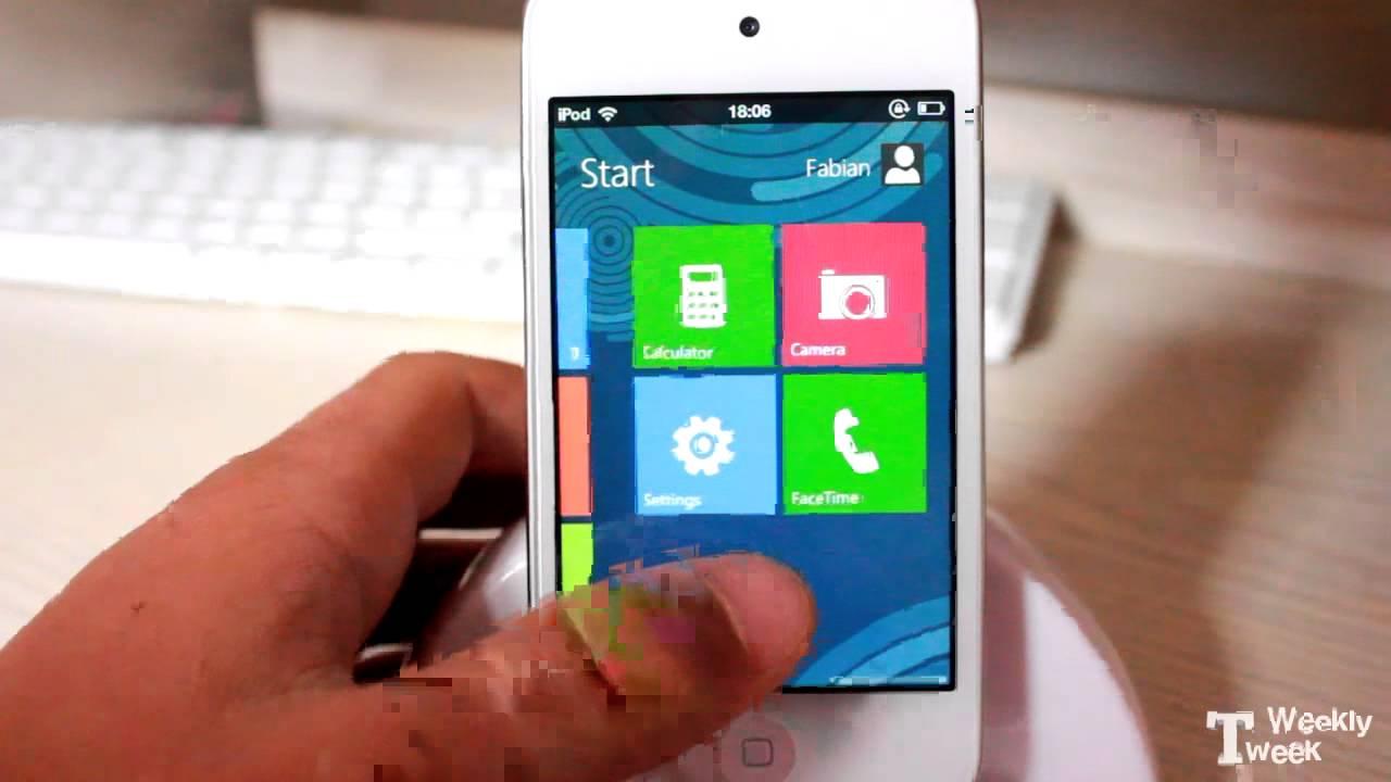 Aero theme windows 7 dreamboard ipod touch 4g youtube.