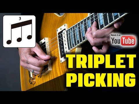 The Secret to Smooth Solos (TRIPLET PICKING)