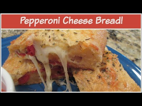 Pepperoni Cheese Bread!  | Cooking For Two