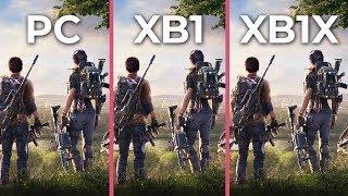 The Division 2 – PC 4K Max vs. Xbox One vs. Xbox One X Graphics Comparison