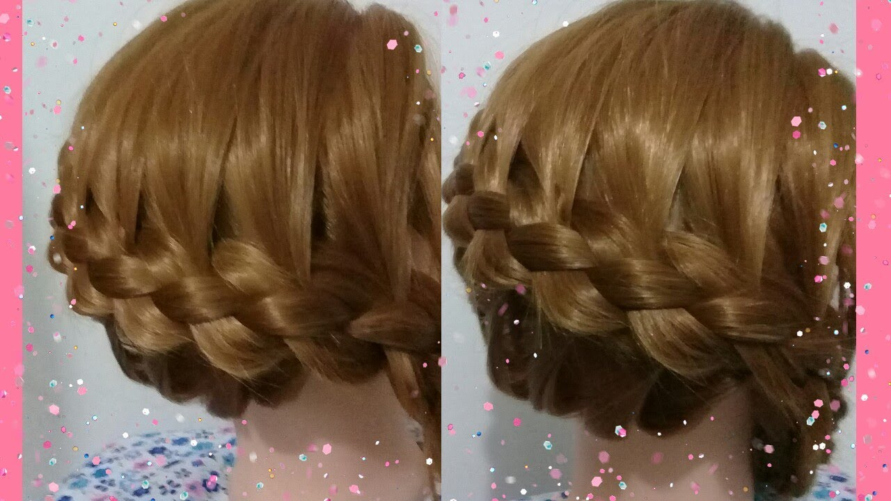 Five Strand French Braid Hairstyle Tutorial Tutorial Kepang
