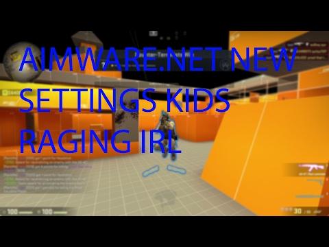 CSGO HVH NO SPREAD + UPDATED SETTINGS AIMWARE.NET KIDS RAGE IRL