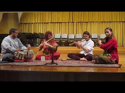 Saggio classe bansuri 2017, Conservatorio Vicenza