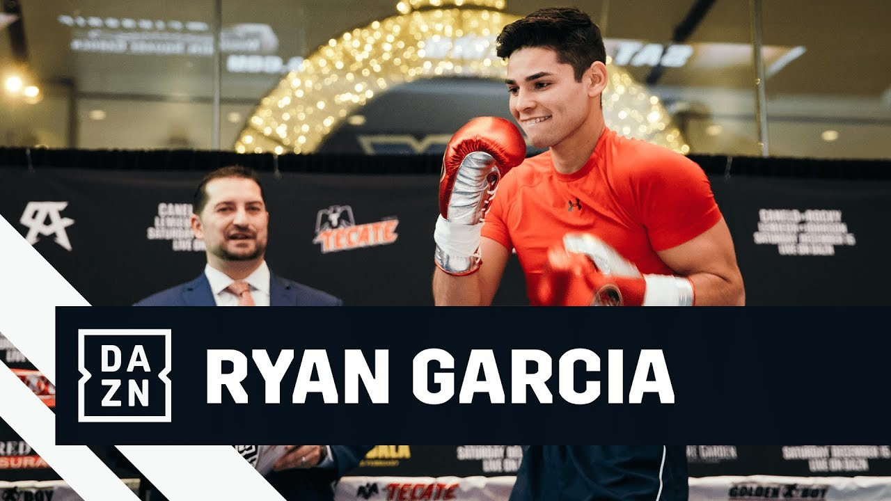 Rising Star Ryan Garcia Chats With Ak & Barak