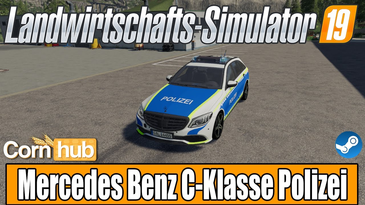 Maybe you would like to learn more about one of these? LS19 Modvorstellung - Mercedes Benz C-Klasse Polizei ...
