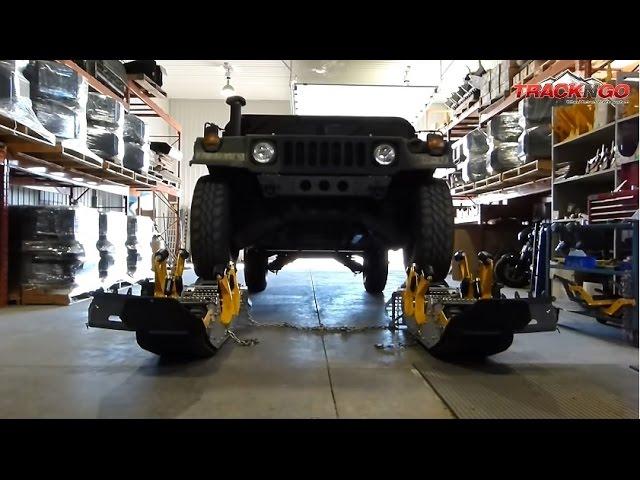 Track N Go on Millitary Humvee M998
