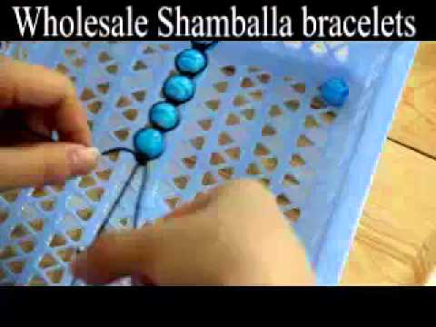 Make shamballa macrame bracelets with your own beads in 15