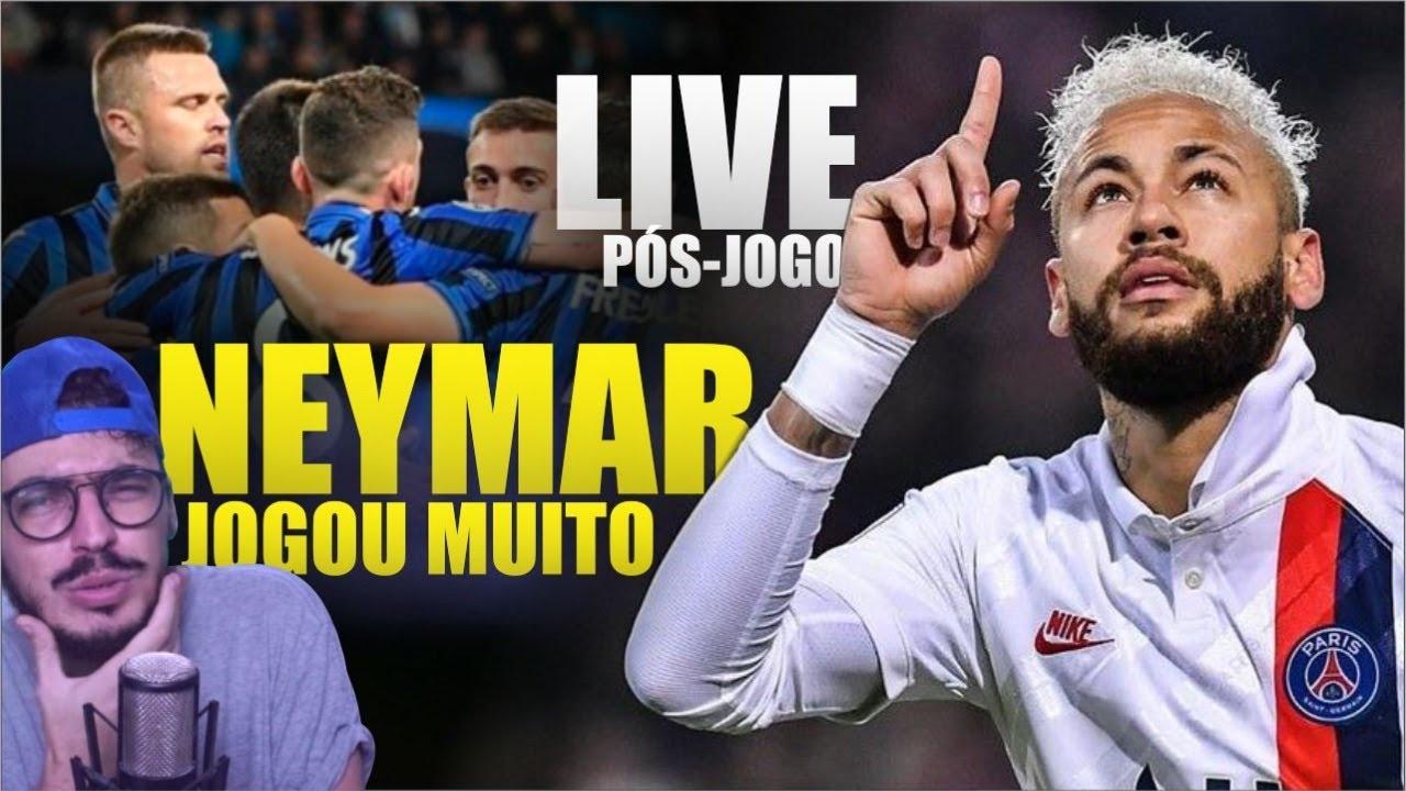 PSG NA SEMI e NEY mostrando seu VALOR (Live)