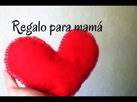 Peluche De Corazon Dia De Las Madres Fieltro Facil Consejosjavier