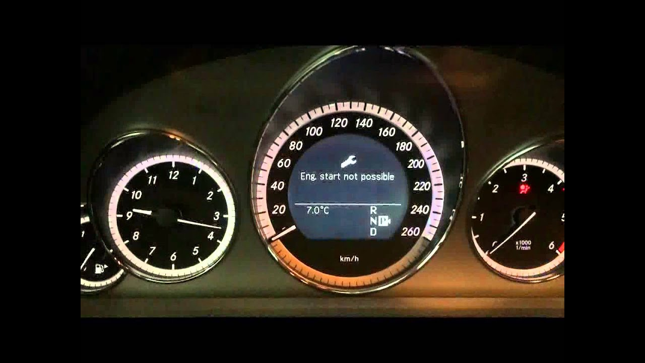 Mercedes cars AdBlue bypass set-up and limited starts count reset  AdBlue  OFF