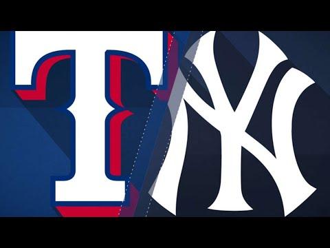 Healthy Happ, 5 HRs propel Yanks over Rangers: 8/9/18
