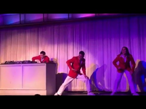 Butlins Skegness February 2016 - Red coats party dances show