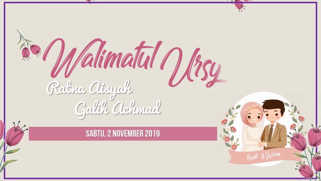 wedding invitation   undangan pernikahan digital muslimah 20   Undangan  Pernikahan Islami
