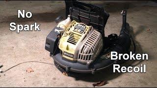 Ryobi Leaf Blower Repair - Will Not Start, No Spark BP42