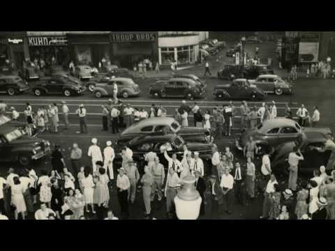 V-J Day in Harrisburg, Pa., 1945