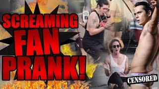 Screaming Fan PRANK!!!