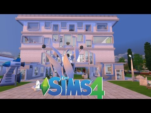 🔧   The Sims 4 -  Speed Build -  Modern Art Museum  🔨