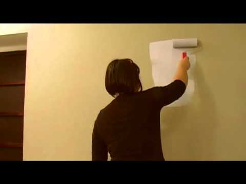 comment peindre un mur avec de la peinture magn tique. Black Bedroom Furniture Sets. Home Design Ideas