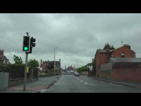 Driving Around Hereford, Herefordshire, England 21st May 2016