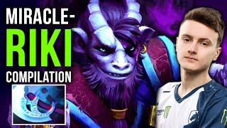 Miracle- Solo Mid Riki + Rampage - Secret Strat for TOP-1 MMR and #TI9? EPIC Gameplay Compilation
