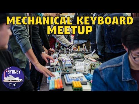 Sydney Mechanical Keyboard Meetup July 2017
