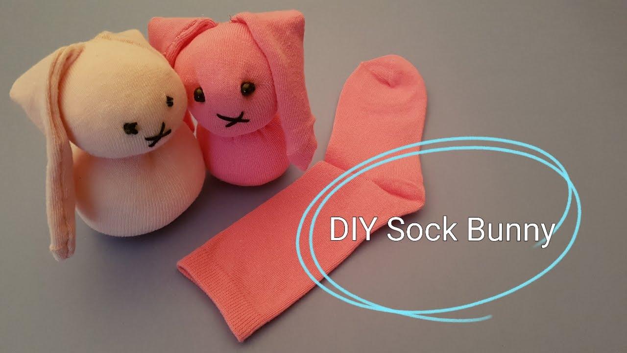 How To Make A Sock Miffy Bunny Diy Tutorial Youtube