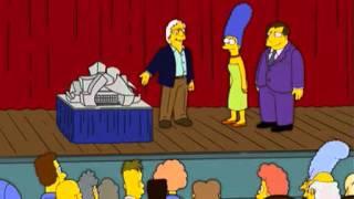 Frank Gehry dans Les Simpsons