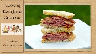 Honey Mustard Glazed Corned Beef | Camp Chef Smoke Vault