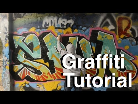 ArtPrimo.com Graffiti Tutorial: Piecing Basics