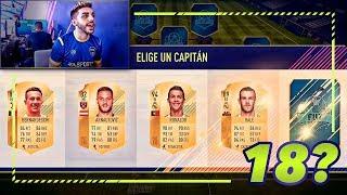 HAGO MI MEJOR FUT DRAFT (Y LO JUEGO) FIFA 18