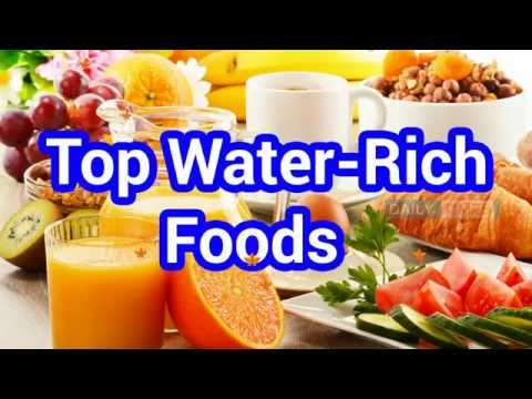 Top Ten Hydrating Foods