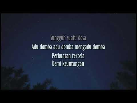 ADU DOMBA - RHOMA IRAMA  [ KARAOKE ]