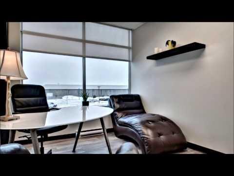 Centre tonik laval bureaux partagés haut de gamme youtube