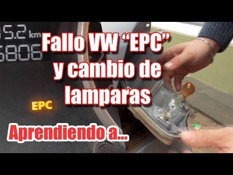 Failure and EPC solution . Lamps exchange ! VW
