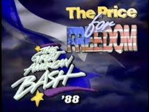 Bash'88 Baltimore PPV-World Tag Team Title- Arn Anderson & Tully Blanchard vs. Sting & Nikita Koloff