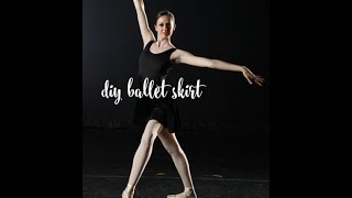 DIY Ballet Skirt Tutorial!