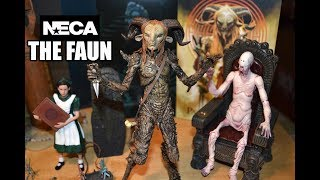Neca Pan's Labyrinth THE FAUN Figure Toy Unboxing & Review! Guillermo Del Toro Collection