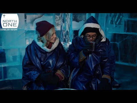 Richard Ayoade and Sally Phillips having a cold one in Stockholm  - Travel Man: 48hrs in...