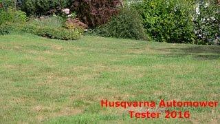 Automower®  Tester '16 - Kaputter Rasen?