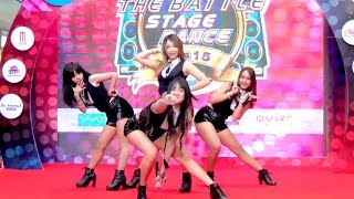 150814 Impedish cover SISTAR - Shady Girl + Push Push @N MARK THE BATTLE STAGE DANCE 2015 (Audition)