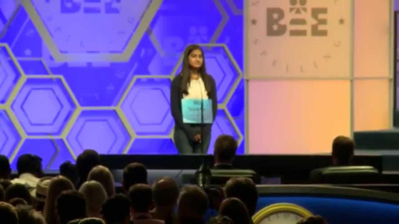 Co Champion Vanya Shivashankar At 2015 Scripps National Spelling Bee
