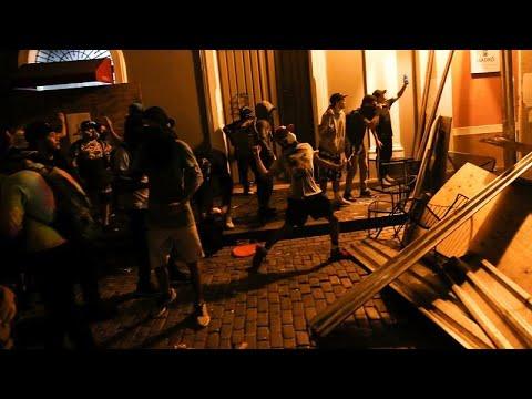 شاهد: اشتباكات بين الشرطة ومتظاهرين يطالبون بإسقاط حاكم بورتوريكو…  - نشر قبل 5 ساعة