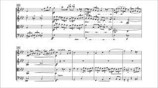 Edvard Grieg - Fugue in f minor for String Quartet With score