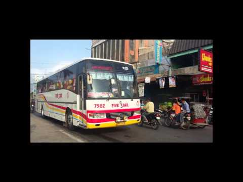 Buses In North Luzon