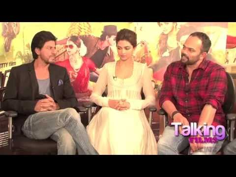 SRK - Deepika - Rohit - Nikitin's Rocking 'Chennai Express' Interview فيديو السفر