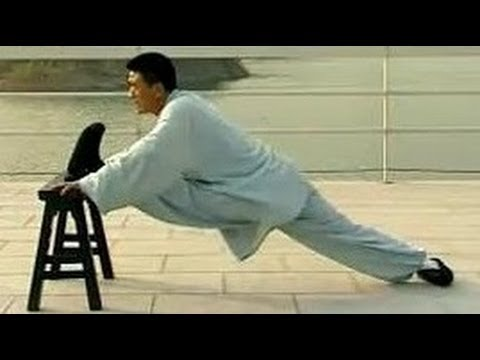 Shaolin kung fu basic training 4: advanced stretching