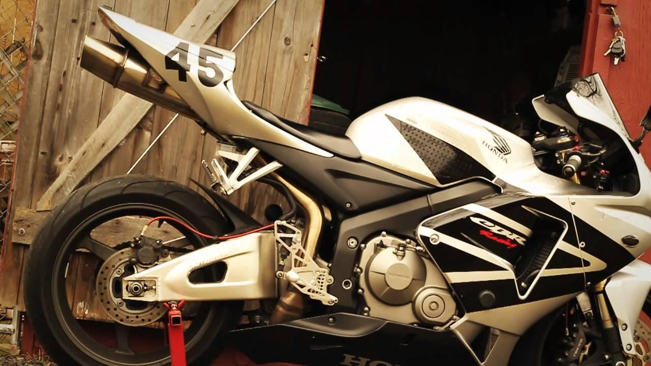 05 Cbr600rr Micron Exhaust