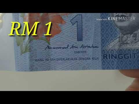 Uang Kertas 1 Ringgit Malaysia (RM)